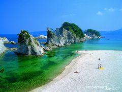 夏の浄土ヶ浜
